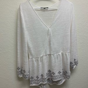 Sanctuary boho shirt size M in good condition.